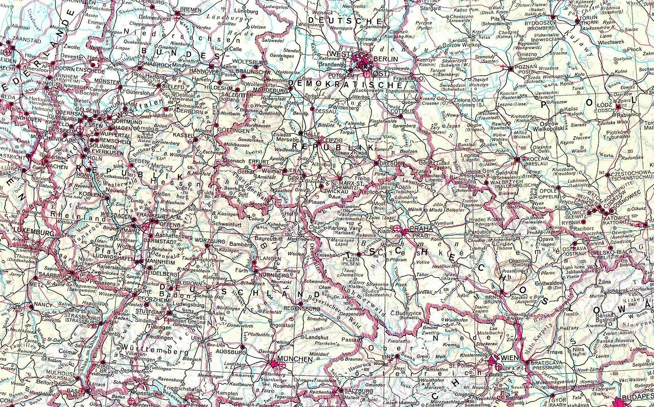 Prozesslandkarte vs. Unternehmenslandkarte